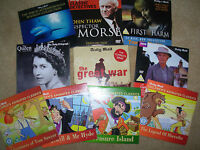 JOB LOT OF 10 DAILY MAIL ETC PROMO DVD's LOT 4