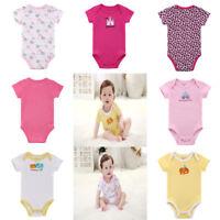 Newborn Baby Bodysuit Cotton Romper Infant Boy Girl Jumpsuit Clothes Outfit Cute