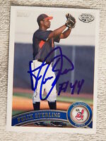 2011 Topps Pro Debut Felix Sterling Auto Blank Back 1/1 Cleveland Indians