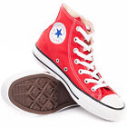 Converse Chuck Taylor All Star High Top Sneakers Red New Trainers Shoes