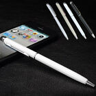 4x Universal 2in1 Touch Screen Stylus Ball Point Pen For iPhone SE iPad Samsung❁
