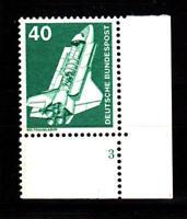 BRD/Bund - Mi-Nr. 850 postfrisch/**, Eckrand unten/rechts mit Formnr. 3 (FN 3)