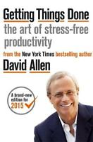 Getting Things Done: The Art of Stress-free Prod, Allen, David, New
