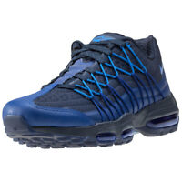 Nike Air Max 95 Ultra Se Mens Trainers Black Blue New Shoes