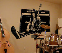 Slash Wall Art, Iconic, Classic, Rock, Vinyl Decal Sticker, WD003