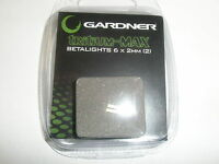 Gardner ATTs Tritium Max Betalight isotopes 2pk GREEN Fishing tackle
