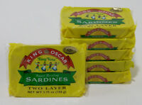 TINY TOTS Sardines King Oscar in EVOO - 12 TINS / FREE Shipping in USA