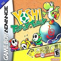 Yoshi: Topsy Turvy Nintendo Game Boy Advance Cart Only ~ Tested And Works