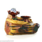"""New Rural Style Home Decorative Craft Gifts Resin Flowing Water Fountain""""Mushro"""""""