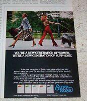 1977 ad - Kayser Supp-hose Pantyhose hosiery sexy girls vintage PRINT ADVERT