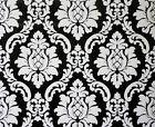 08521-40) hochwertige Vinyltapete Black White Barock Tapete SUPER