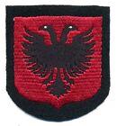 VOLONTARI Albania elite ww2 scudetto da braccio