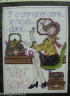 Woman's Work (Sampler) - Counted CROSS Stitch KIT (New) Design Works