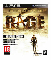 Rage: Anarchy Edition (PS3), Very Good PlayStation 3, Playstation 3 Video Games