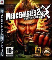 Mercenaries 2: World in Flames (PS3), Very Good PlayStation 3, Playstation 3 Vid