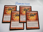 4x MTG Seal of Fire-Sigillo del Fuoco Magic EDH DIS Dissention Ita-ING Modern x4