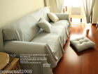 Mediterranean Style Home Decoration Stripe 170CM * 280CM Sofa Cloth Sofa Cover