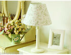 Modern Home Process European Rural Style Wedding Gift White Floral Table Lamp