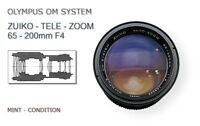OLYMPUS OM 65-200mm F4 ZUIKO TELE ZOOM - MINT CONDITION