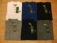 Lyle and Scott Men's Long Sleeve Polo All Size's ! S-M-L-XL-XXL