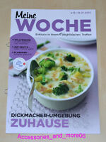 Weight Watchers Meine Woche 13.1-19.1 Wochenbroschüre ProPoints™ Plan 360° *2013