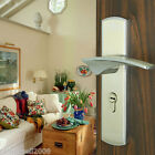 European Style Classical Security Zinc Alloy Chrome Anti-Theft Lock Curvy Handle