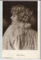 ~1920/20 Echtfoto-AK mit Mia May Schauspielerin Film, Bühne Postkarte