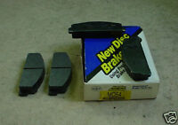 66 to 72 FIAT 68 to 74 COROLLA front DISC BRAKE PADS
