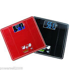 #1 Household Portable Sqaure Glass+Steel Electronic Digital Body Weight Scale