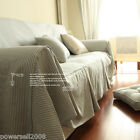 Mediterranean Style Home Decoration Stripe 170CM * 220CM Sofa Cloth Sofa Cover
