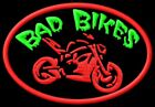 Bad Bikes Parche bordado iron-on patch