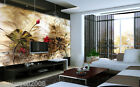 D15 Murals Modern Simple Warm Bedroom TV Background Wallpaper Custom Size