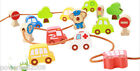 Changeable Colorful Environmental Protection Traffic Wooden Educational Toys