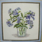 Vase of Blue Flowers - COUNTED CROSS STITCH KIT from Russia