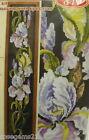 Irises (Beautiful Flowers) - COUNTED CROSS STITCH KIT (New)