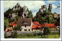 8551 TÜCHERSFELD bei Pottenstein Bayern 1969 Strassen Partie mit Wohnhaus