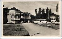 Göhren Rügen DDR Ansichtskarte 1955 gelaufen Partie an der Promenade