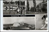 SASSNITZ Rügen DDR ua. Hafen Postamt Fährschiff uvm.