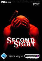 Second Sight (PC, 2005, DVD-Box) - komplett mit Anleitung - sehr guter Zustand