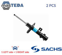 2x SACHS SHOCK ABSORBERS STRUTS SHOCKERS 313 532 P NEW OE REPLACEMENT