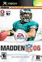 Madden NFL 06 (Microsoft Xbox Game Disc Only Free Shipping 100% Guaranteed