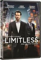 Limitless Unrated Extended Cut (NEW Blu-Ray, 2011, Bilingual) FREE SHIPPING !!