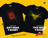 Marvel's Ant-Man and the Wasp / Football T-Shirt (Loot Crate DX Exclusive)