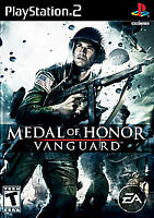 Medal of Honor: Vanguard (Sony PlayStation 2, 2007) Disc Only Tested Resurfaced