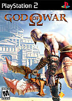 God of War SCUS-97481 PS2 Video Game Disc 1 ONLY Tested Fully Resurfaced