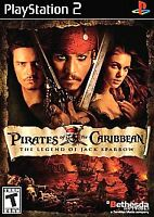 Pirates of the Caribbean  Playstation 2 PS2 COMPLETE - Fast FREE Shipping