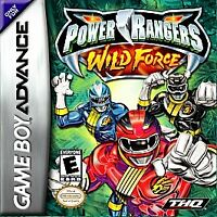 Power Rangers: Wild Force (Nintendo Game Boy Advance, 2002)