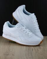 Reebok Scarpe Sportive Sneakers Royal Glide Bianco Ripple Clip pelle