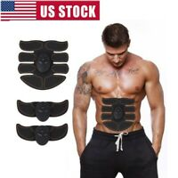 US Indoor Muscle Stimulator Training Gear ABS Trainer Six Pads Body EMS Exercise
