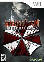 Resident Evil The Umbrella Chronicles, Wii game, No case